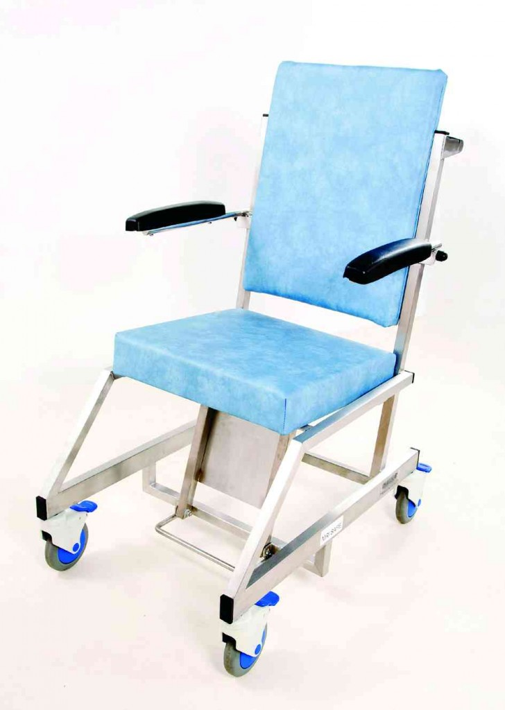 MRI Porters Chair - Hinged Arms